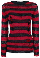 Fredy's Destroyed Stripe Sweater