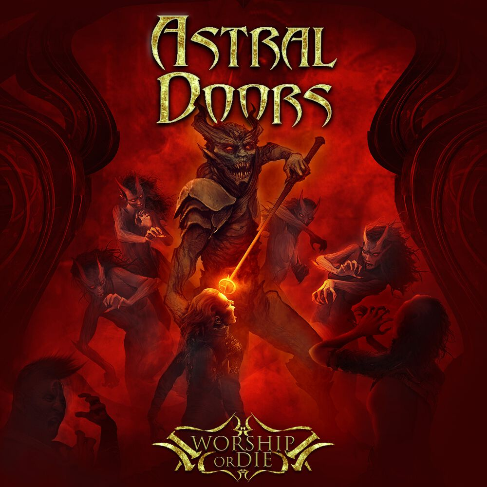 Image of Astral Doors Worship or die CD Standard