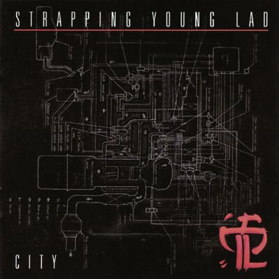 Strapping Young Lad City CD multicolor 9976652