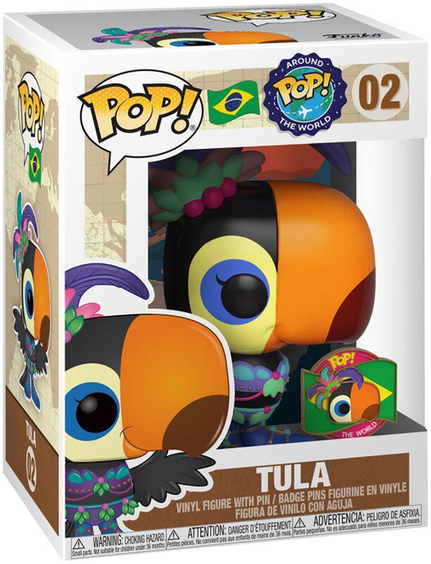 Around the World - Tula (POP und Pin) (Brazil) (Funko Shop Europe) Vinyl Figur 02