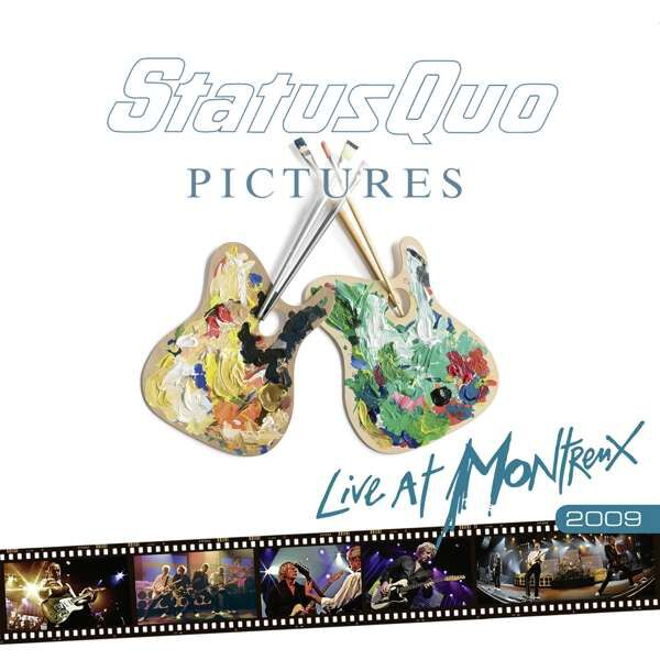 Image of Status Quo Pictures - Live at Montreux 2009 CD & Blu-ray Standard