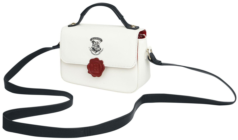Handtaschen für Frauen - Harry Potter Brief Handtasche weiß  - Onlineshop EMP