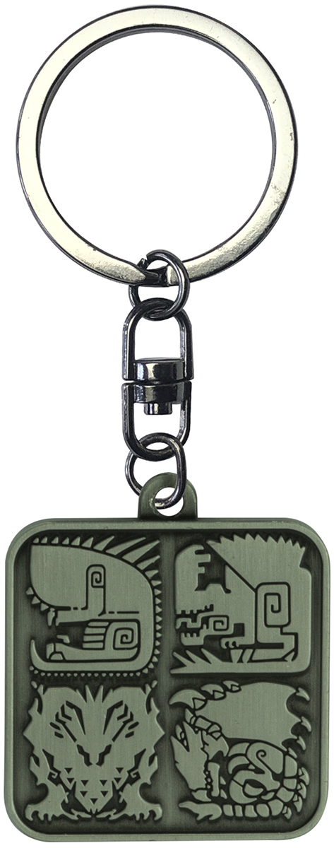 Monster Hunter - Symbols - Schlüsselanhänger - multicolor