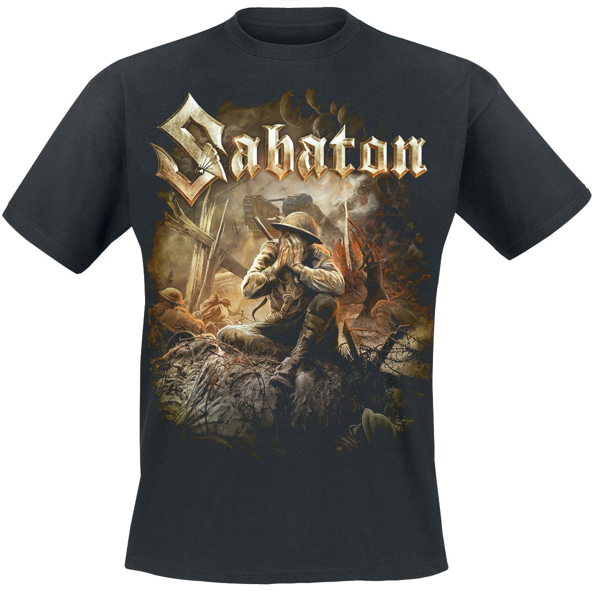 Sabaton - The Great War - T-Shirt - black image