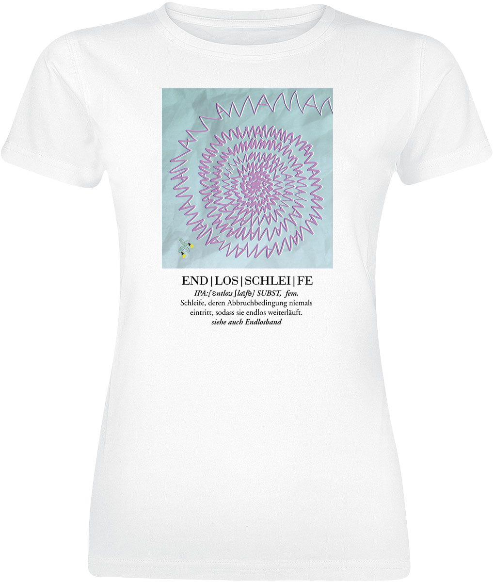 RackaArtz Endlosschleife T-Shirt weiß POD - FOTL VW - Endlosschleife