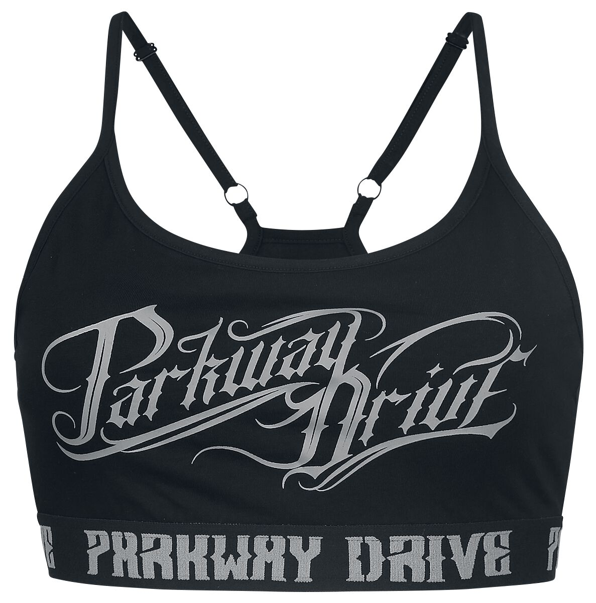 Image of Parkway Drive EMP Signature Collection Bustier schwarz