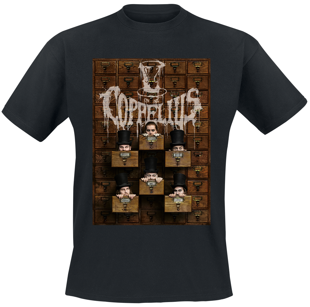 Image of Coppelius Kammerarchiv CD & T-Shirt schwarz