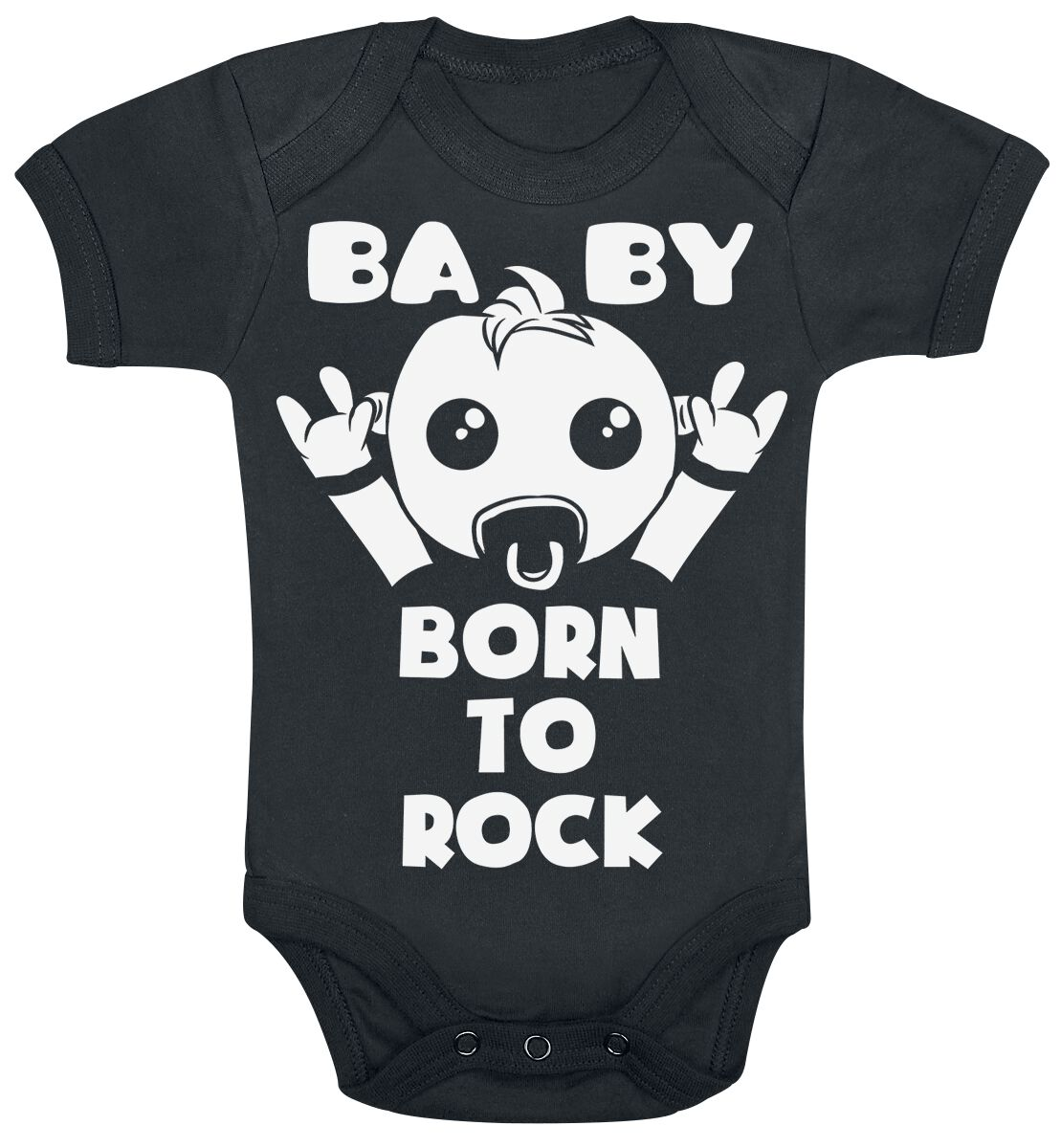 Image of Born To Rock Body schwarz