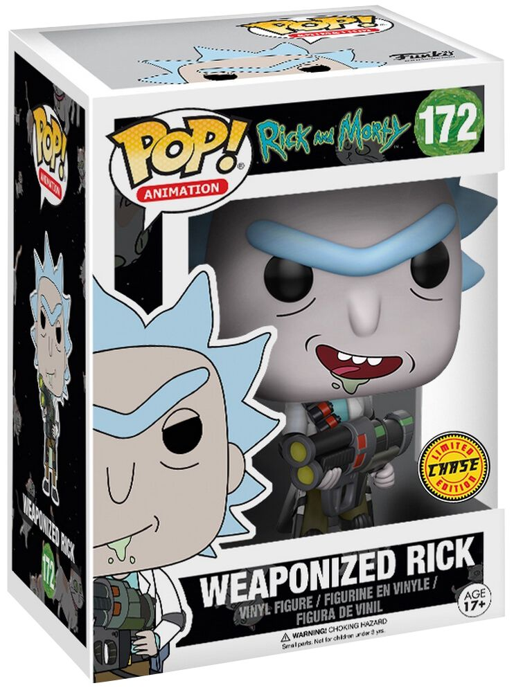 weaponized rick chase ist m glich vinyl figure 172. Black Bedroom Furniture Sets. Home Design Ideas
