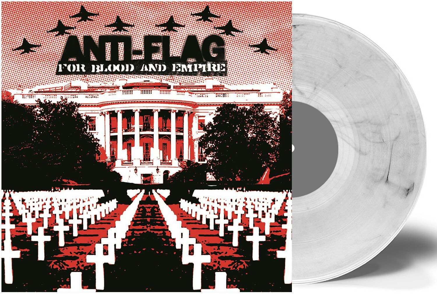 Image of Anti-Flag For Blood And Empire LP Standard
