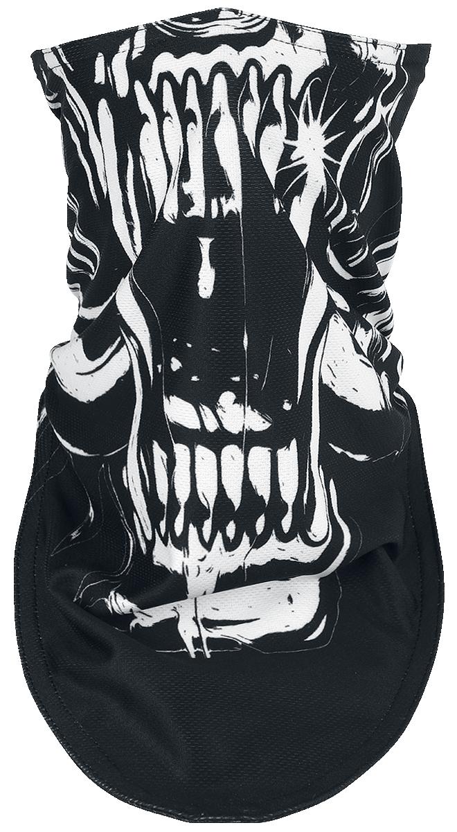 Motörhead - Warpig Biker Mask - Maske - schwarz  weiß - EMP Exklusiv!