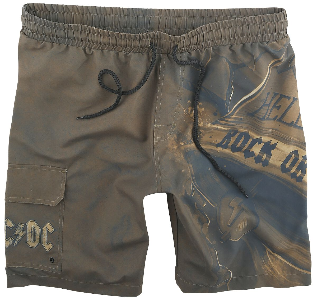 Image of AC/DC EMP Signature Collection Badeshorts multicolor
