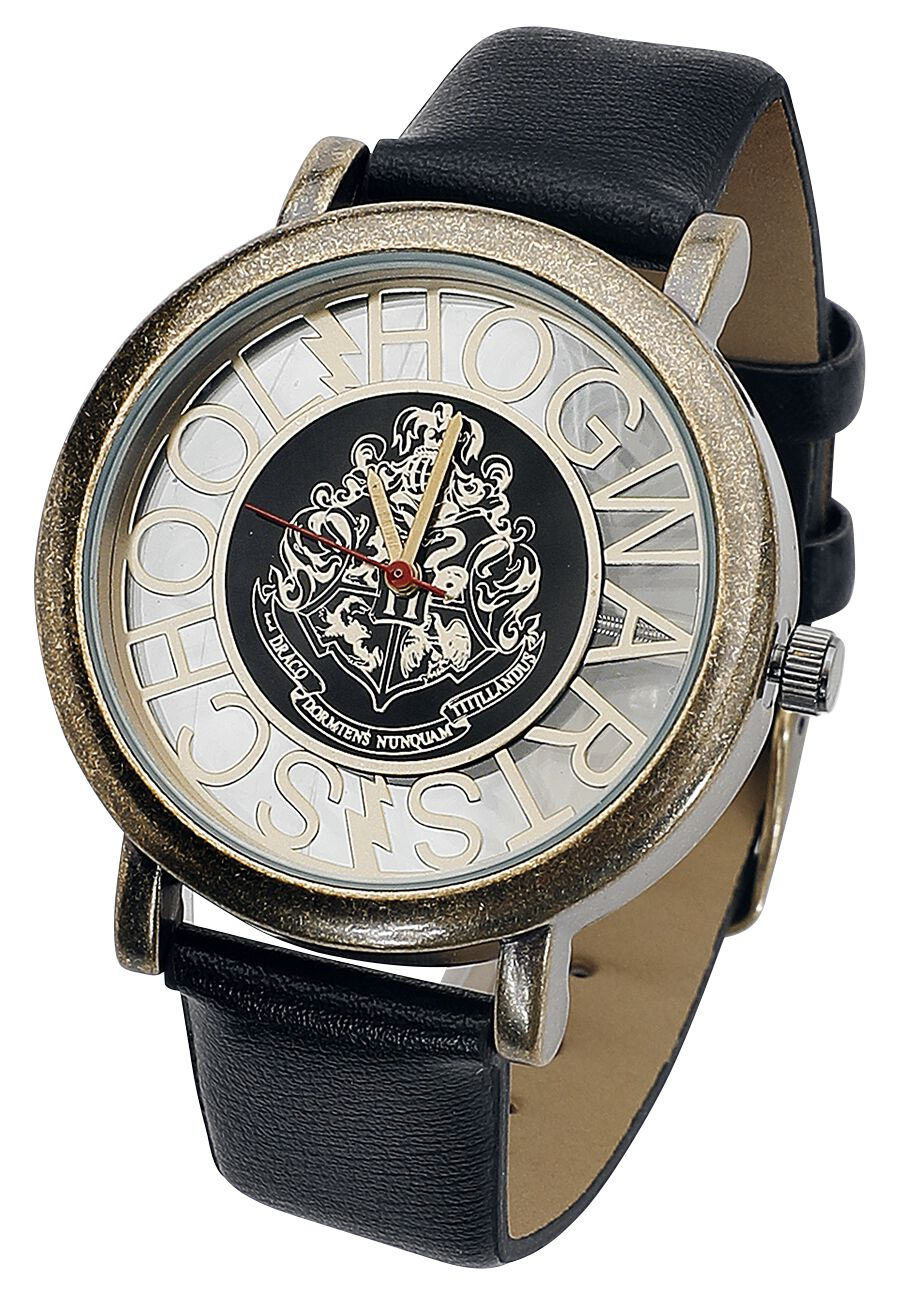 Harry Potter - Hogwarts - Armbanduhren - schwarz goldfarben
