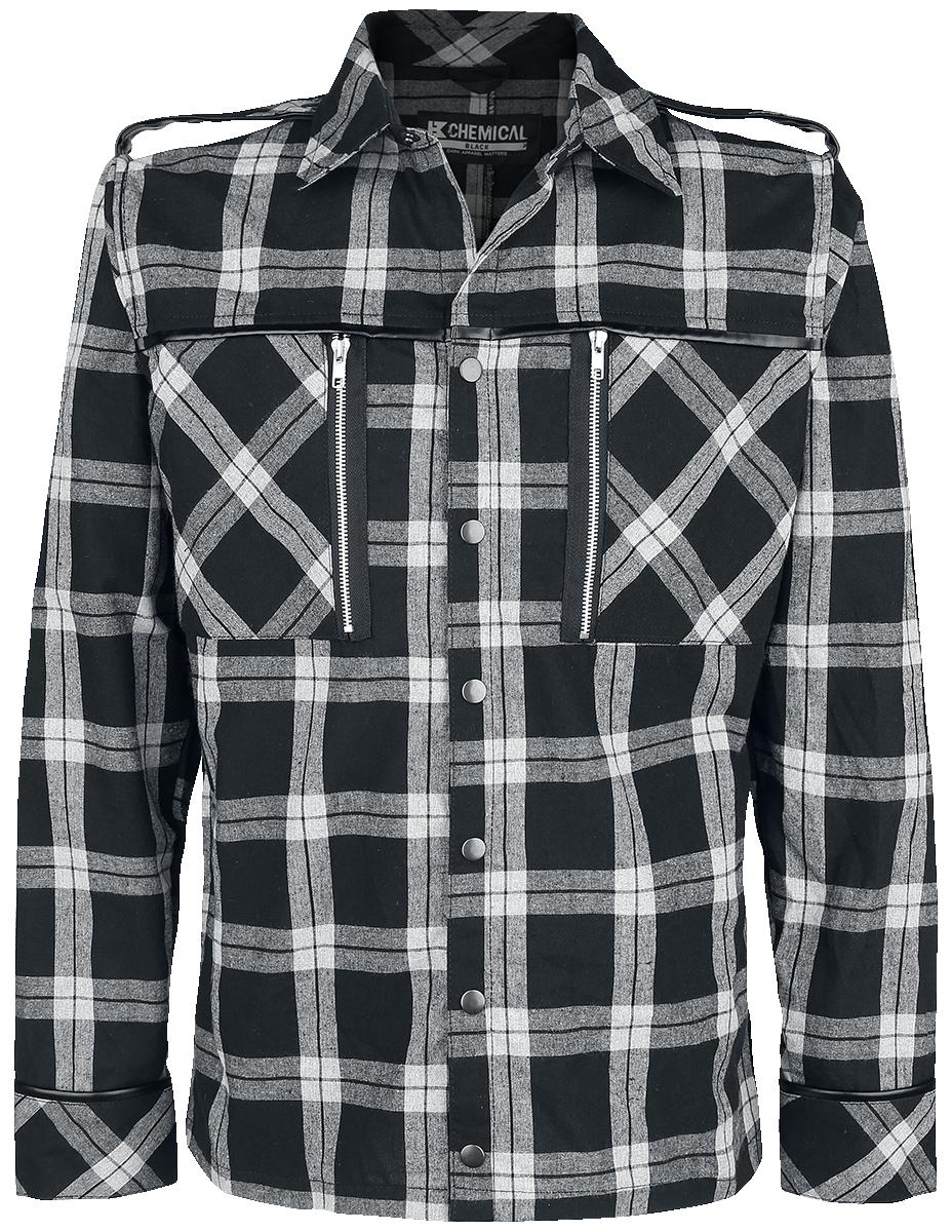 Chemical Black - Ezra Shirt - Shirt - grey image