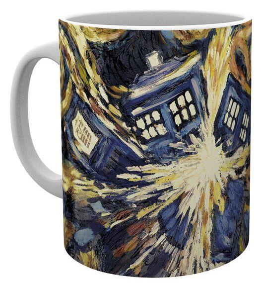 Doctor Who Exploding Tardis Tasse multicolor MG1223