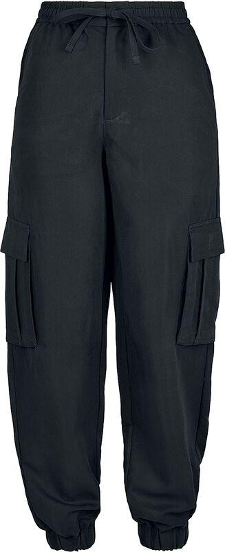 Ladies Viskose Twill Cargo Pants