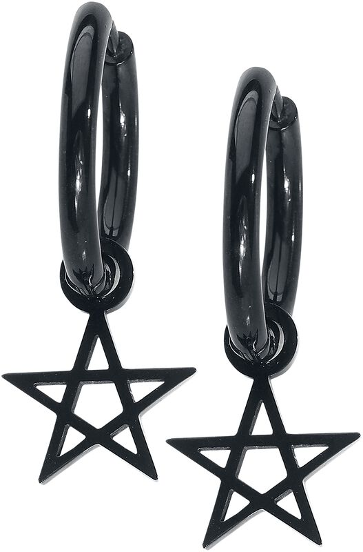 Little Pentagram Hoops
