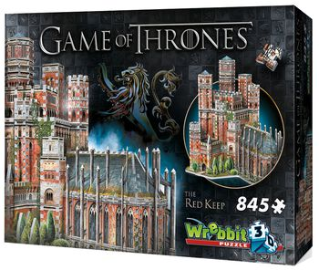3D Puzzle Der Rote Bergfried