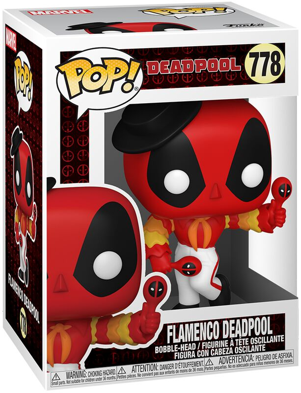 30th Anniversary - Flamenco Deadpool Vinyl Figur 778