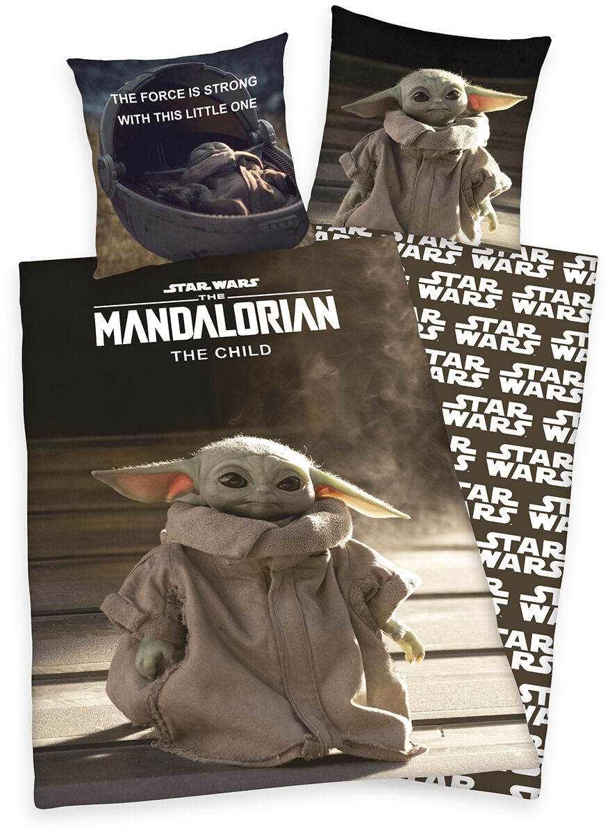Star Wars The Mandalorian - Grogu  Bettwäsche  multicolor