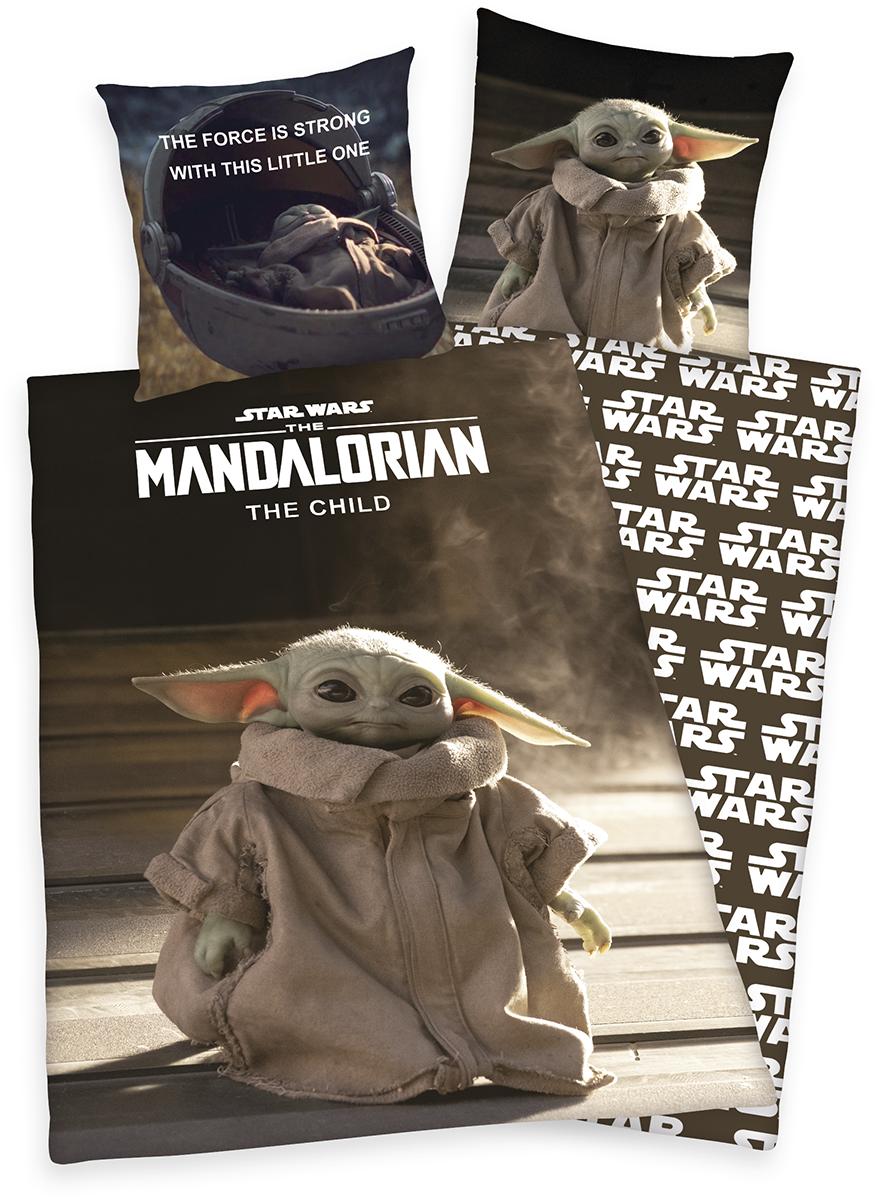 Star Wars - The Mandalorian - Grogu - Bettwäsche - multicolor