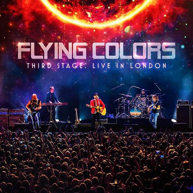 Third stage: Live in London