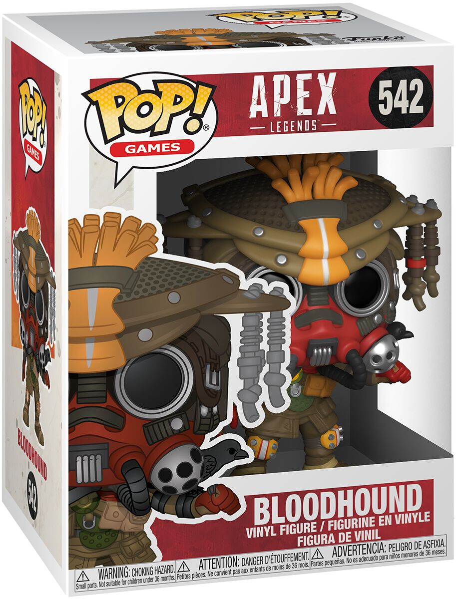 Image of Apex Legends Bloodhound Vinyl Figure 542 Sammelfigur Standard