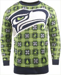 Seattle Seahawks Crew Neck Sweater