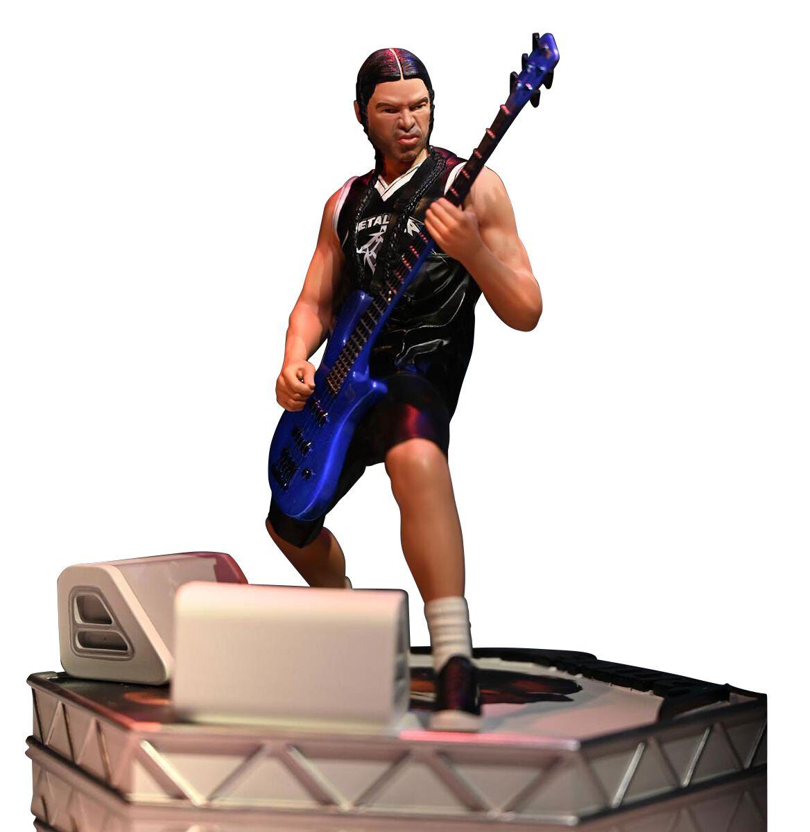 Metallica Rock Iconz Statue Robert Trujillo Statue multicolor KBMETRT100