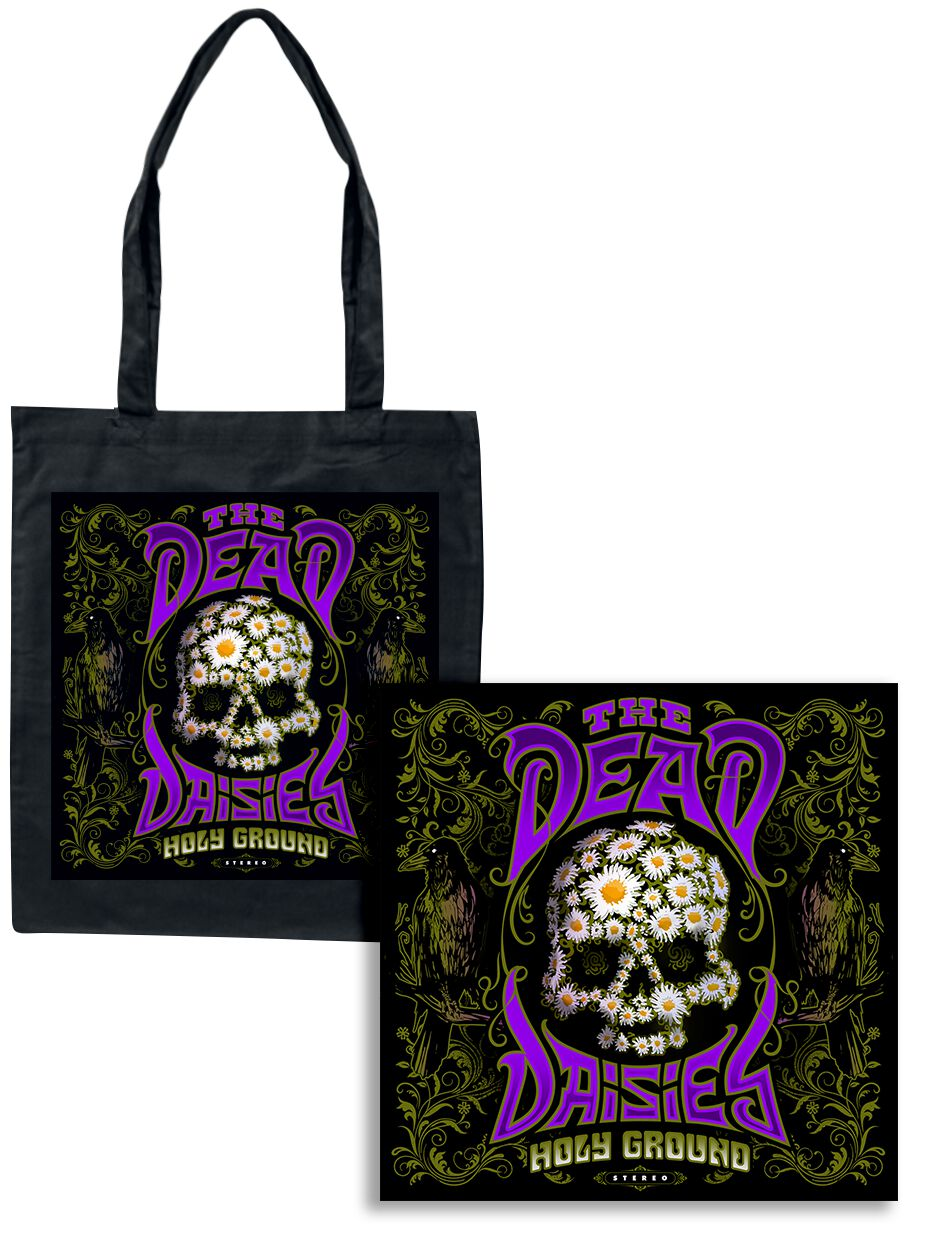 Image of The Dead Daisies Holy ground CD & Stofftasche Standard