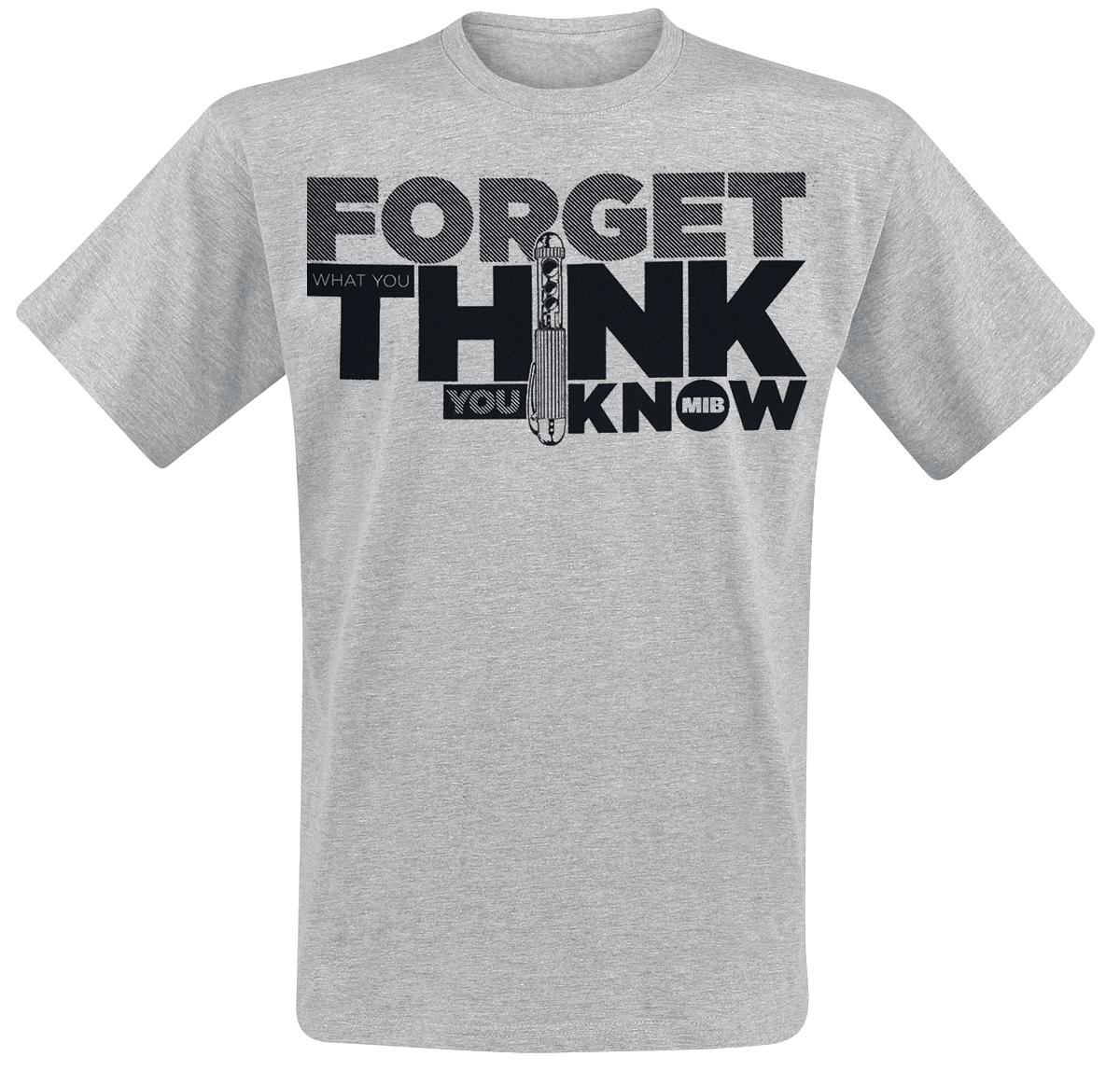 Men in Black - Forget - T-Shirt - grey image