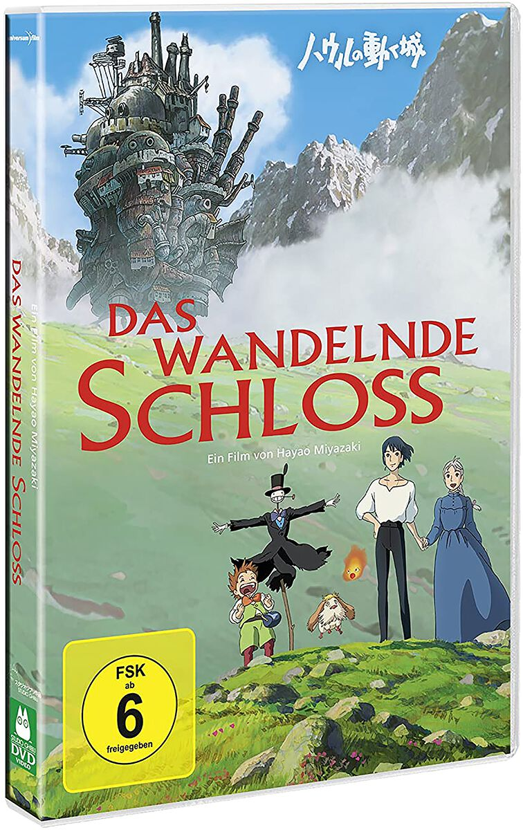 Das wandelnde Schloss Studio Ghibli - Das wandelnde Schloss DVD multicolor 82876751159