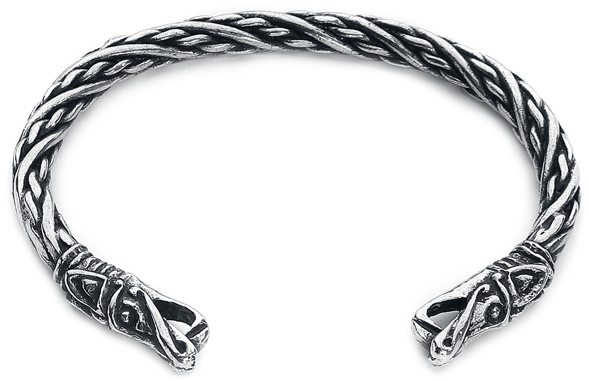 Image of Asgard Small Dragon Bracelet Armreif silberfarben