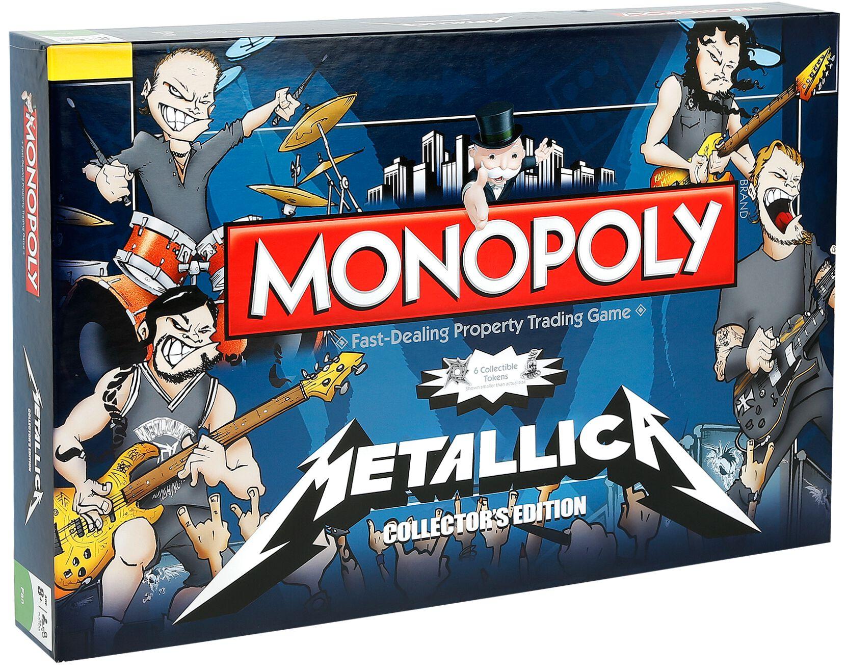 Image of Metallica Monopoly Brettspiel Standard
