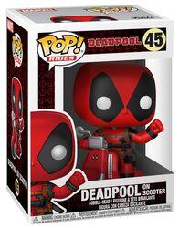 Deadpool on Scooter Vinyl Figur 45