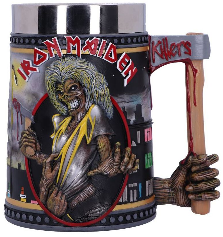 Image of Iron Maiden Killers Bierkrug multicolor