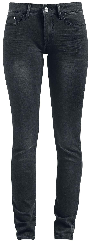 Hosen für Frauen - Black Premium by EMP Skarlett Jeans schwarz  - Onlineshop EMP