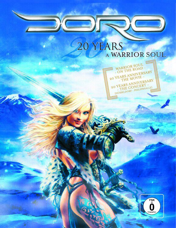 Image of Doro 20 years - A warrior soul 2-DVD & CD Standard
