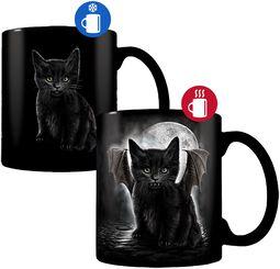 Bat Cat -Tasse mit Thermoeffekt