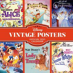 Wandkalender 2021 - Vintage Posters