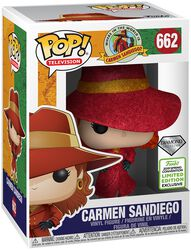 Wo steckt Carmen Sandiego? ECCC 2019 - Carmen Sandiego Vinyl Figure 662