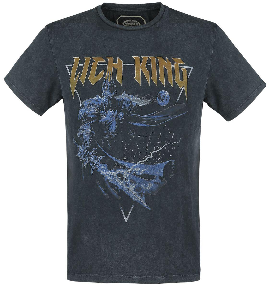 World Of Warcraft The Lich King T-Shirt schwarz TSP001WOW-M