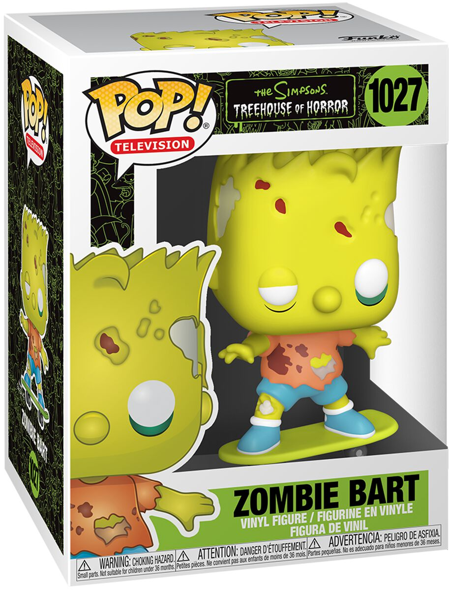 Die Simpsons Zombie Bart Vinyl Figur 1027 Funko Pop! multicolor 50139
