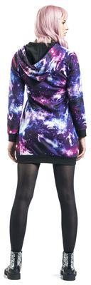 Kleid mit Galaxyprint