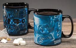 Dungeons and Dragons - Tasse mit Thermoeffekt