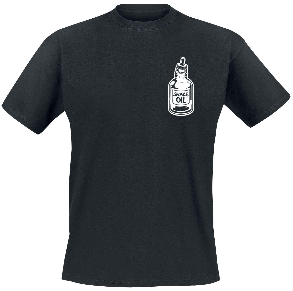 The bearded Phil Beard Oil T-Shirt schwarz POD - FOTL Iconic 165