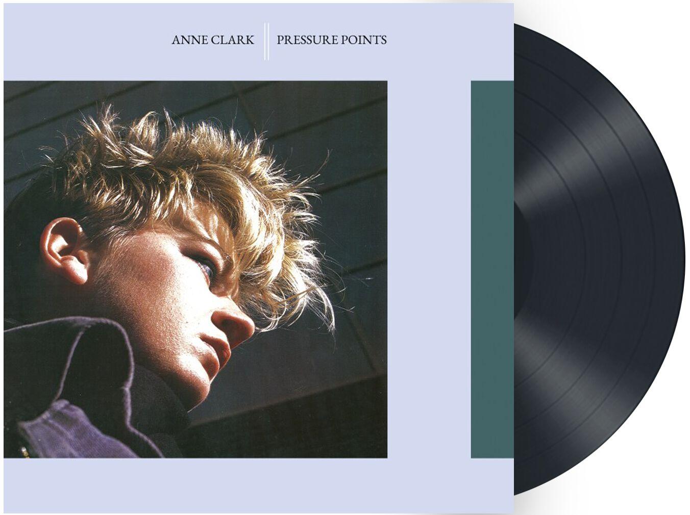 Image of Anne Clark Pressure points LP schwarz