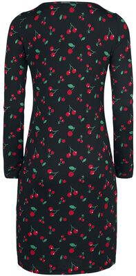 Cherries Slim Dress
