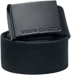 Colored Buckle Canvas Belt