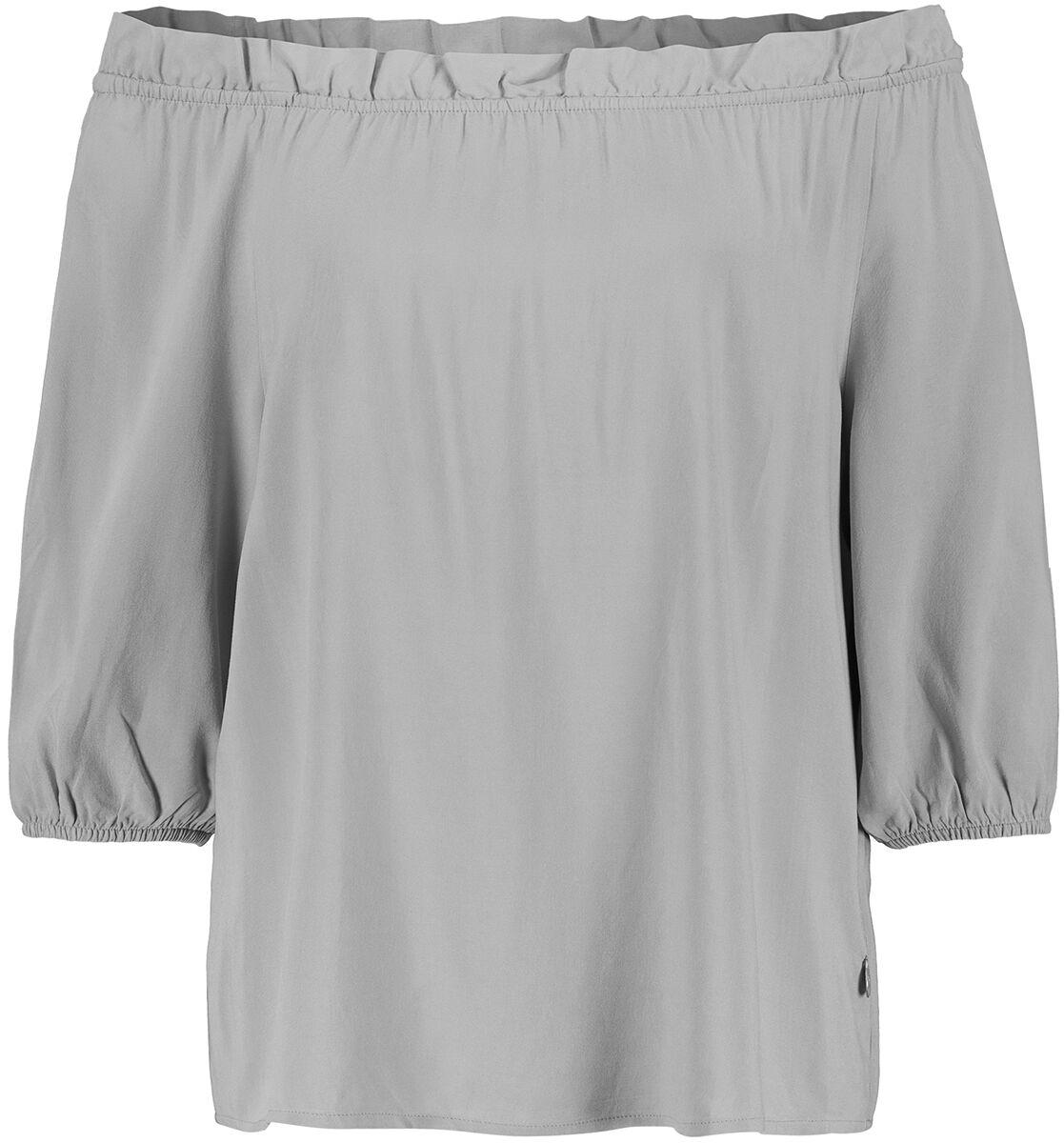 Image of Eight2Nine Slip In Blouse Bluse grau